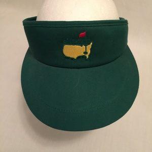 NEW MASTERS Golf Tour Green Visor Hat PGA